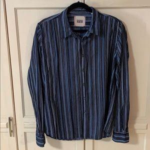 Vertical stripes men's XL shirt